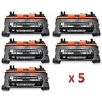 Kit 5 Toner Similar HP 64A CC364A Compativel HP LaserJet P4010 P4014N P4015 P4015TN P4015X P4515 P4515N P4515TN P4515X P4515XM