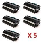 Kit 5 Toner Similares Lexmark X264H11G | X264A21G Compativel Lexmark Optra X264dn X363dn X364dn X364