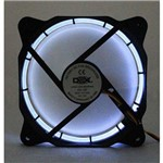Kit 5 Un. Cooler Fan 120mm com Led Dx-12f-branco