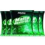 Kit 5 Un Maltodextrin 1kg Athletica Morango
