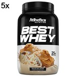 Kit 5X Best Whey - 900g Doce de Leite - Atlhetica Nutrition
