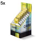 Kit 5X Carb UP Gel Super Fórmula - 10 Sachês 30g Baunilha- Probiótica