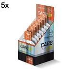 Kit 5X Carb UP Gel Super Fórmula - 10 Sachês 30g Laranja - Probiótica