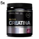 Kit 5X Creatina Blend - 420g Acaí com Guarana - Probiotica
