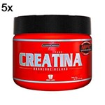 Kit 5X Creatina Hardcore Reload - 300g - IntegralMédica