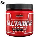 Kit 5X Glutamine Isolates - 300g - IntegralMédica