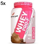 Kit 5X Whey PRO-F - 900g Chocolate - BodyAction