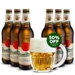 Kit 6 Pilsner Urquell + Caneca Oficial 500ml