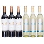 Kit 6 Unidades Vinho Argentino Aimé 750ml