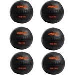 Kit 6 Wall Ball para Crossfit e Treinamento Funcional 6 Kg 8 Kg 10 Kg Oneal