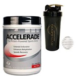 Kit Accelerade - 933g Fruit Punch + Coqueteleira 600ml com Mola