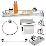 Kit Acessorios para Banheiro Super 7pçs 002732 Jackwal