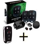 Kit Alarme Automotivo Exact 360 Positron com Chave Canivete PX80
