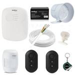 Kit Alarme Residencial Basico 1 Zona com Fio Intelbras