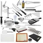 """Kit Aluno (Accademia Gastronomica) Completo Zwilling (Chefe 08"""") - com Faca Chef 8"""" (Não Acompanha Pasta)"""