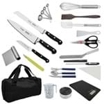 """Kit Aluno (Anhembi Morumbi - Pós Graduação) Confeitaria Century (Chefe 08) - com Faca Chef 8"""""""
