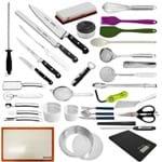 """Kit Aluno (FAM) Century (Chefe 08) - com Faca Chef 8"""" (Não Acompanha Pasta)"""