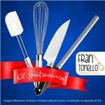 """Kit Aluno (Fran Tonello) Century (Chef 8) - com Faca Chef 8"""" (Acompanha Pasta)"""