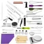 """Kit Aluno (Senac Águas de São Pedro) Master (Opção 2) - com Faca Chef 08"""" (Não Acompanha Pasta)"""