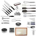 """Kit Aluno (Unipinhal) Century (Chefe 8) - com Faca Chef 8"""" (Não Acompanha Pasta)"""