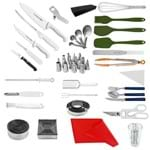 """Kit Aluno (Unipinhal) Master (Chefe 08) - com Faca Chef 08"""" (Não Acompanha Pasta)"""