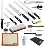 """Kit Aluno (USF) Century (Chefe 8) - com Faca Chef 8"""" (Não Acompanha Pasta)"""