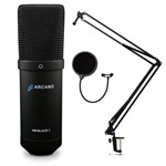 Kit Am-black-1 Usb + Pedestal Articulado Ss-02 + Amf1