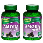 Kit 2 Amora Miura com Vitaminas 240 Cápsulas de 500mg Unilife