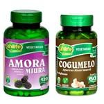 Kit Amora Miura com Vitaminas e Cogumelo Unilife