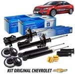 Kit Amortecedores Completo com Batentes Hatch/sedan Kit423 Cruze
