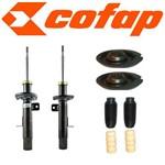 Kit 2 Amortecedores Dianteiros C3 + Coxins + Kits (Batentes e Coifas)