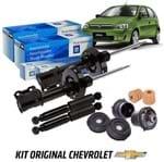 Kit Amortecedores Dianteiros e Traseiros 1.8 Flex Gasolina com Batentes Kit400 Corsa Novo