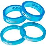 Kit Anel Espaçador Kode em Acrílico 4 Peças Kit Anel Espaçador Aheadset Over Kode Acrílico-azul