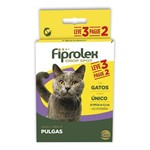 Kit Antipulgas Ceva para Fiprolex para Gatos Leve 3 Pague 2