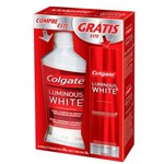 Kit Antisseptico Bucal Colgate 250ml+creme Dental Whitening