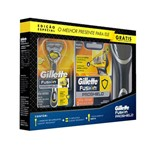 Kit Aparelho Gillette Fusion Proshield + Case para Aparelho Procter