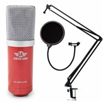 Kit Arcano Mic Condensador USB Ga Red + 1 Ar-ss-02 + 1 Am-f1