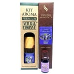 Kit Aroma Aroma Premium Estação do Ano Lavanda Francesa - Nota da Primavera