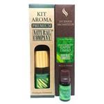 Kit Aroma Premium Estação do Ano Capim Limão - Nota da Primavera