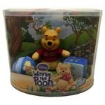 Kit Baby Boneco Pequeno de Pelúcia Urso Ursinho Pooh Disney - Multibrink