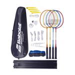Kit Badminton Babolat Leisure X4 4 Raquetes