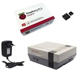 Kit Básico Raspberry Pi 3 B+ Plus - Case Retroflag Nespi