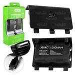 Kit 2 Baterias e Cabo Carregador para Controle Xbox-one - Kp-5126a