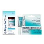 Kit Bepantol Derma Labial 7,5ml + Derma Solução 50ml
