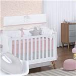 Quarto de Bebê Happy Rosê 200 Fios 16 Peças