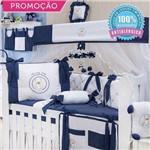 Kit Berço Teddy Lovely Marinho 09 Peças