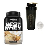 Kit Best Whey 900g Peanut Butter + Coqueteleira 600ml com Mola