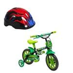 Kit Bicicleta e Capacete de Segurança