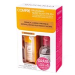 Kit Bioderma - Photoderm Nude Touch Fps50 Dourado + Sensibio H2o