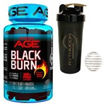 Kit Black Burn 60 Caps + Coqueteleira 600ml com Mola